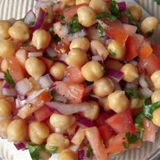 Punjabi Chickpeas Salad