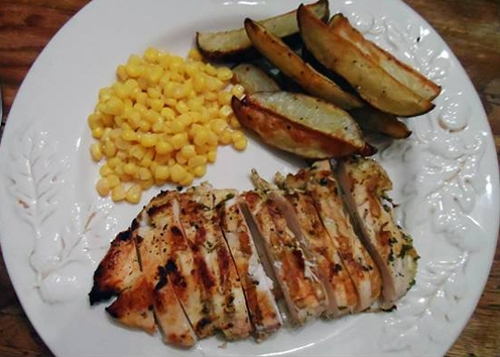 Grilled Chicken with Lime and Coriander