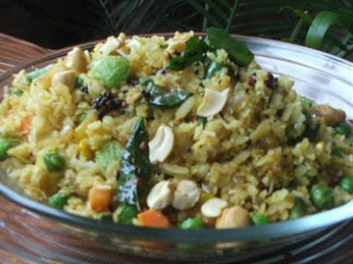 Aval Vegetable Upma
