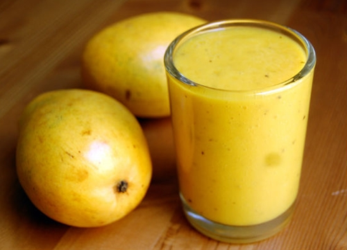 Homemade Mango Lassi
