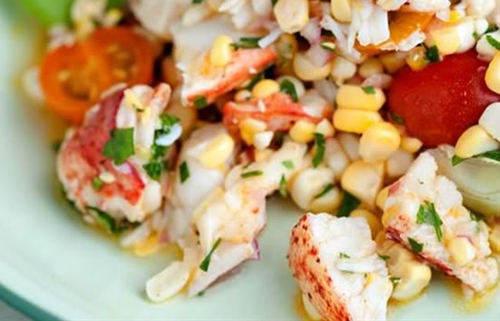 Lobster Corn Salad