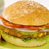 Indian style Paneer Burger