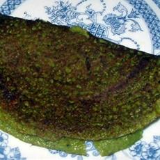 Spinach Dosa