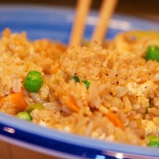 Egg Fried Rice with Ginger