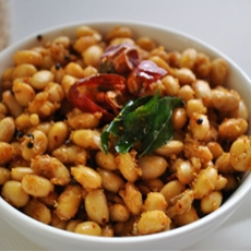Soya Beans Masala Sundal