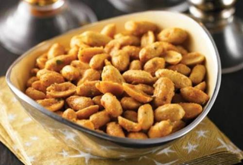 Spicy Roasted Peanuts