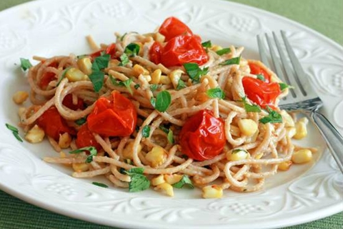 Sweet Corn Pasta