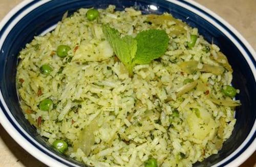 Mint Potato Rice