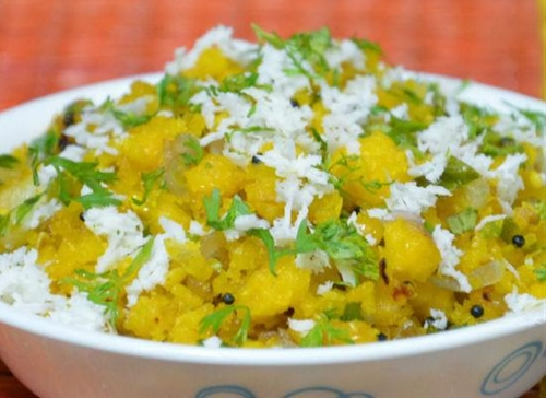Bhutte ka Kees (Grated Corn Chaat)