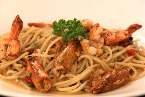 Prawn and Chilli Pasta