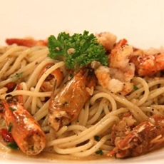 Prawn and Chilli Pasta