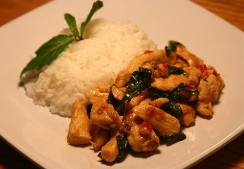 Thai Basil Chicken Stir