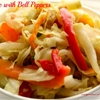 Cabbage Bell Pepper Medley