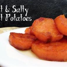 Sweet and Salty Sweet Potatoes