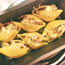 Sausage Stuffed Shells