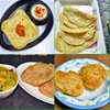 Perfect chapathi/roti/poori and phulka