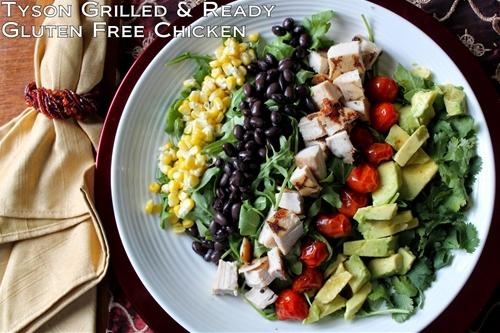 Gluten-Free Chicken Southwestern Cobb Salad Recipe