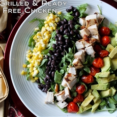 Gluten-Free Chicken Southwestern Cobb Salad Recipe