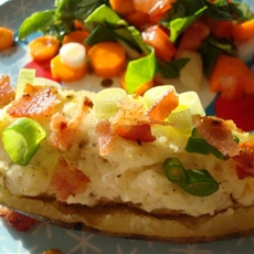 Loaded Baked Potatoes