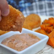 Cajun Pink Sauce for Dipping Summer Snacks