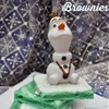 Disney Frozen Party Brownies