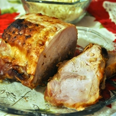 Oriental Pork Loin Roast