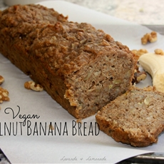 Vegan Walnut Banana Bread