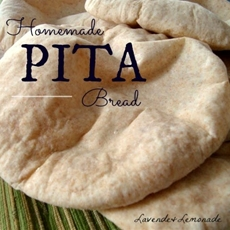 Healthy Homemade Pita Bread