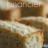 French Financier Almond Pastries