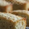 French Financier Almond Pastries