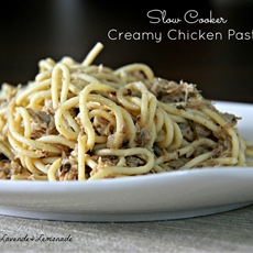 Healthy Crock Pot Chicken and Pasta