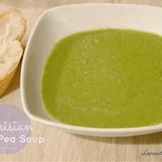 Parisian Sweet Pea Soup