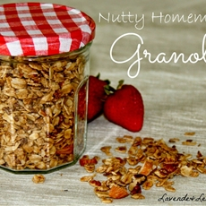 Nutty Homemade Granola