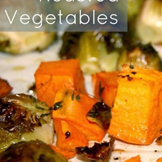 Thyme Roasted Vegetables