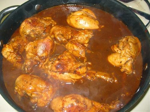 Chicken In Adobo Sauce - Pollo En Adobo