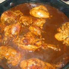 Chicken In Adobo Sauce - Pollo En Adobo