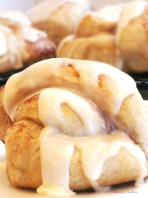Frosted Cinnamon Knot