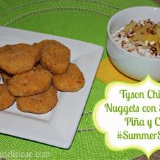 Tyson Panko Chicken Nuggets con Salsa de Piña y Coco
