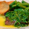 Steak with Rocket Sauce