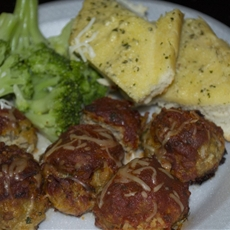 Cheese Turkey MeatBalls