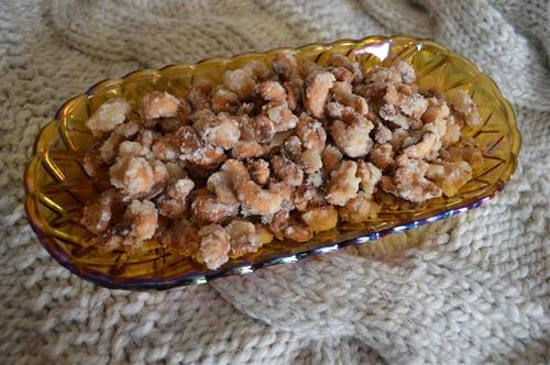 Ginger Cashews