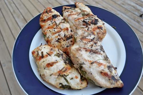Spring (Grilled) Chicken