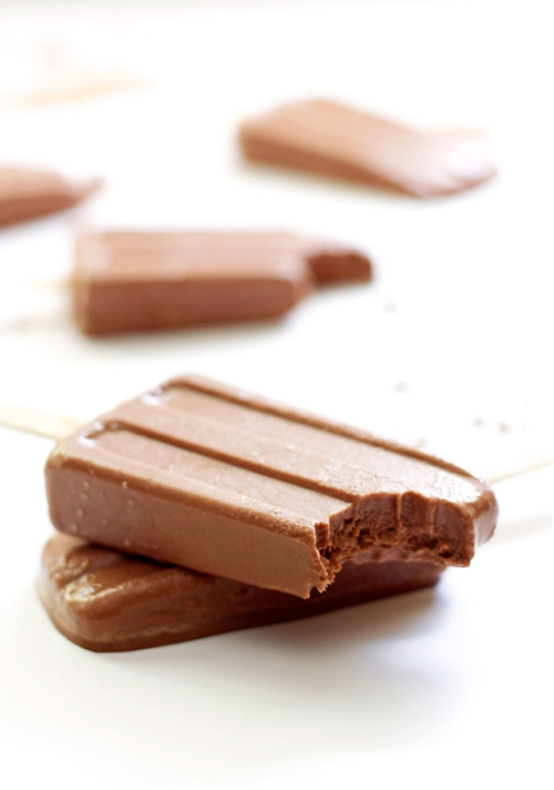 Greek Yogurt Fudgesicles