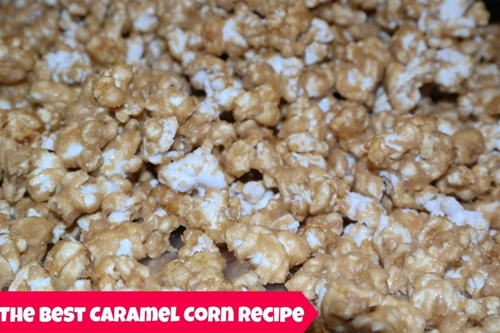 The BEST Caramel Corn