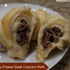 Philly Cheese Steak Crescent Rolls