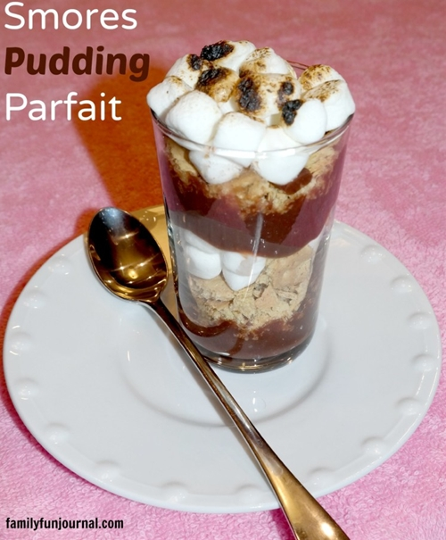 Smores Pudding Parfait