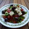 Greek peasant salad
