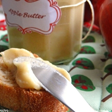 Canadian apple butter