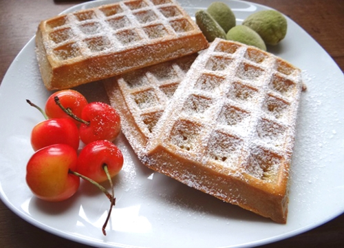 Waffles for a rainy day