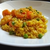 Prawn and saffron rice